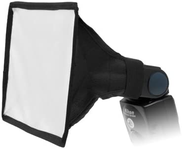 Softbox Speedlite Flash Bounce Diffuser For Nikon SB-900 Nikon SB-910 Flash Gun