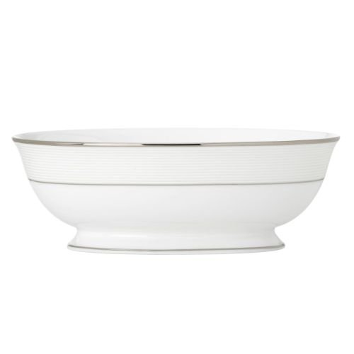 Opal Innocence Stripe Vegetable Bowl by Lenox