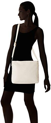 Le Temps des Cerises Florida _ Ltc3s6r - Bolso bandolera Mujer Blanc (Raphia)