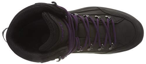 Mi Hautes Noir De Renegate Randonnée violet Chaussures Gtx Lowa Femme q7Z6x