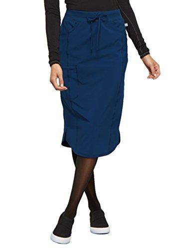 - Cherokee Infinity CK505A Drawstring Skirt Navy S