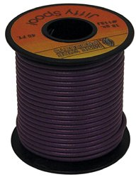 HARDWARE 12089 Black General Purpose Wire for Electrical Use