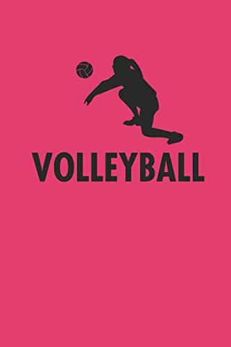 Volleyball: Notizbuch Spieler Notebook Journal 6x9 lined por Kathy Ballove