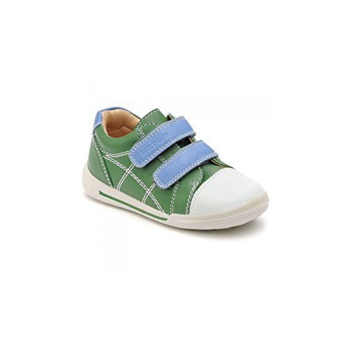 Start-rite - Zapatos primeros pasos para niño verde - Green Leather