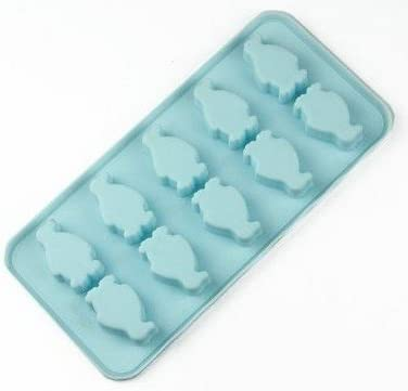 6-Penguin Silicone Chocolate Soap Mold Cake Candy Baking Mould Ice Mold Tray