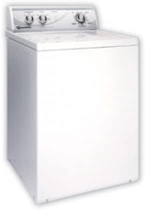 Speed Queen AWN432S Top Load Washer With 3.3 cu. ft. Stainless Steel Wash Tub, Automatic Balancing System in White