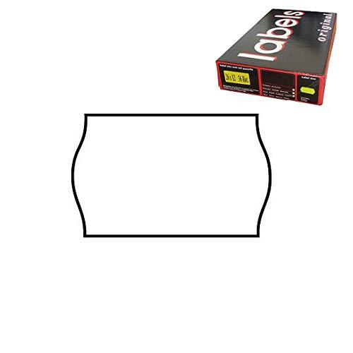 26x16 Scatola 36 Rotoli Etichette per Prezzatrice Bianco Removibile Alevar 270/R