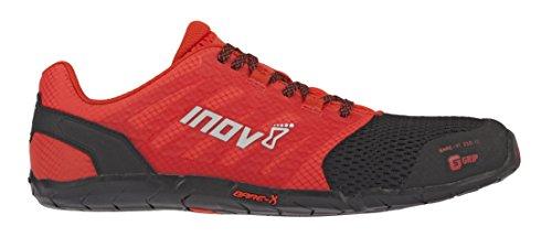 Inov-8 Mens Bare-XF 210 V2 - Barefoot Minimalist Cross Training Shoes - Zero Drop - Wide Toe Box - Versatile Shoe for Powerlifting & Gym - Calisthenics & Martial Arts - Black/Red 8 M US by Inov-8 (Image #1)