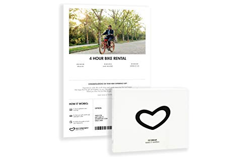 4 Hours Bike Rental in New York Experience Gift Card NYC - GO DREAM - Sent in a Gift Package