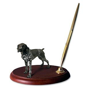 German Shorthair Pointer Dog Desk Set