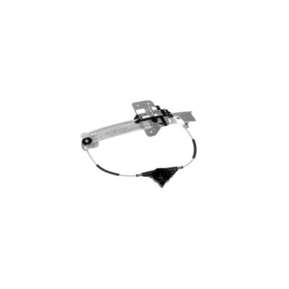 OE Replacement Lincoln Town Car Rear Driver Side Door Glass Regulator without Motor (Partslink Number FO1550107)