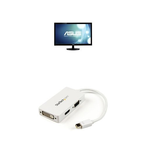 Asus VS247H-P 23.6-Inch Full-HD LED-Lit LCD Monitor + Min...