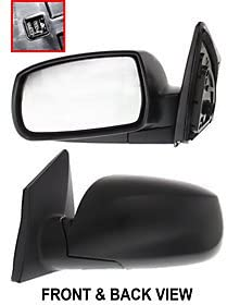 US Made Door Mirror Glass Replacement Passenger Side For Nissan Titan 09-12
