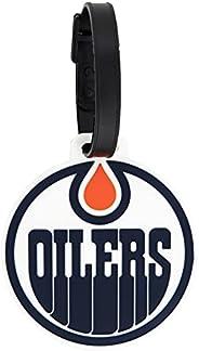 Edmonton Oilers Team NHL National Hockey League Luggage Tag Bag (PVC Luggage Tag)