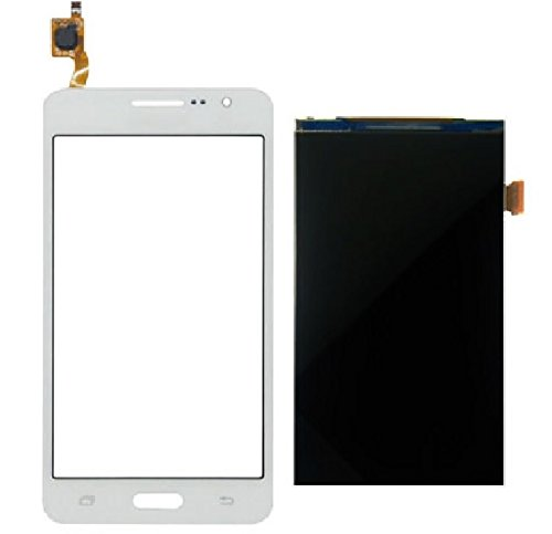 For Samsung Galaxy Grand Prime SM-G531H Front Touch Screen Digitizer + LCD Display + Sticker +Kits (White)