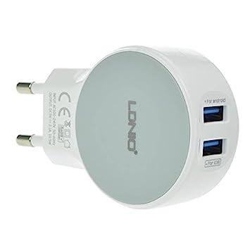 Sut Ldnio original de puertos USB duales 2.1a adaptador de ...