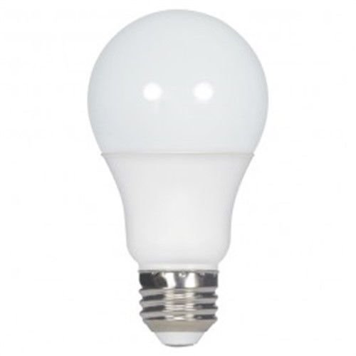 (Pack of 12) Satco S9838 9.5W A19 LED 4000K Medium Base 220' Beam Spread 120V Light Bulb - Satco Light Bulb Color Reflector