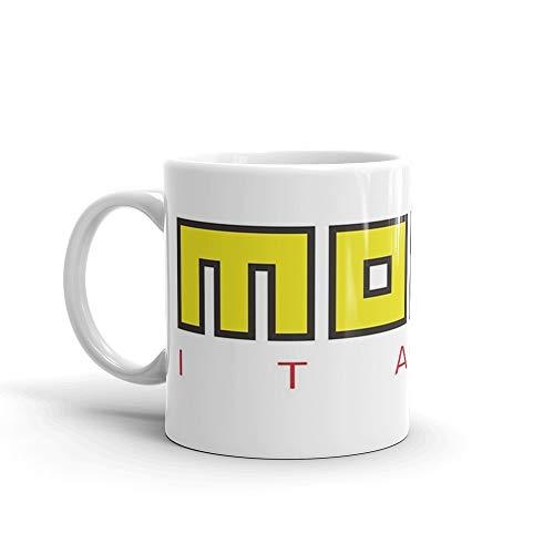 Momo Italy Mug 11 Oz White Ceramic