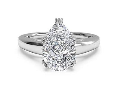 cieco negozio di sconto più foto Anelli di fidanzamento con diamante solitario da 2,00 carati ...