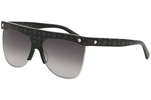 MCM Men's 107S 107/S 006 Black Visetos Fashion Square Sunglasses 60mm