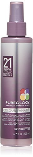 - Pureology Colour Fanatic Hair Leave in Treatment Spray with 21 Benefits, 6.7 fl. oz.