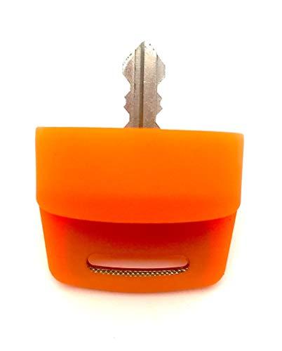 Polaris RZR XP1000 900 800 570 General Ranger Sportsman Quad Ignition Switch Key Cover (Shocker Orange)