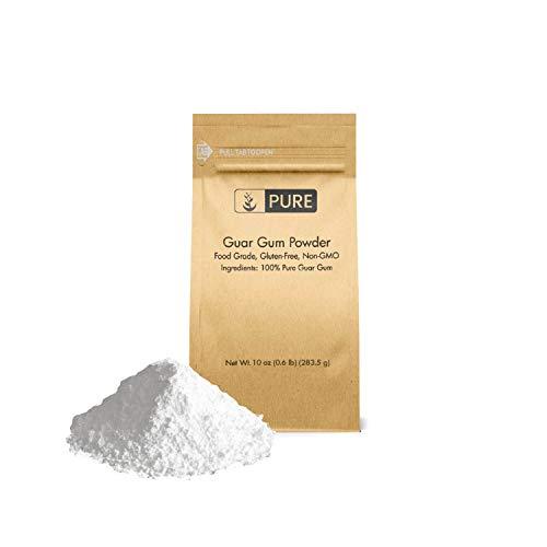 Guar Gum - Guar Gum Powder (10 oz.) by Pure Organic Ingredients, Food Grade, Gluten-Free, Non-GMO, Thickening Agent