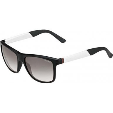 Gucci 56-16-140 mm GG 1047-S NYVIC Matte Black - Gucci White Shades
