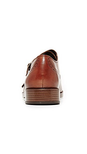 Cole Haan Mens Harrison Grand Double Monk Oxford British Tan
