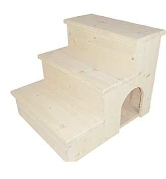 Elmato 10709 - Escalera para gatos (madera natural): Amazon.es: Productos para mascotas