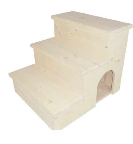Elmato 10709 - Escalera para gatos (madera natural): Amazon.es: Productos para mascotas