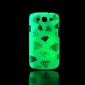 qyf Samsung S3 I9300 compatible Graphic/Special Design/Glow in the Dark Plastic Back Cover