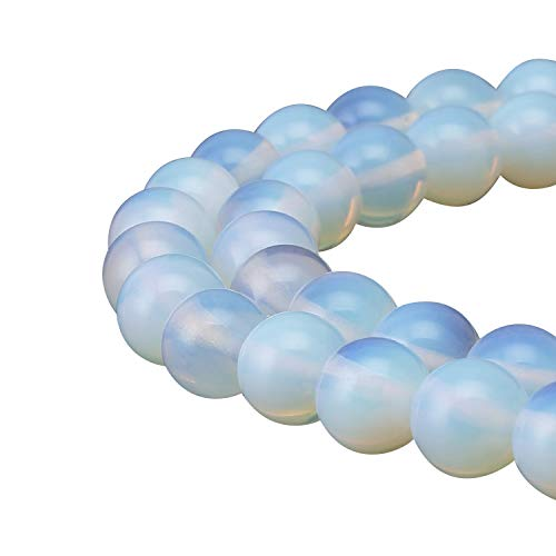 2 Strands x AAA Synthetic Opal Gemstone Loose Round Beads 4mm Spacer Beads (15.5