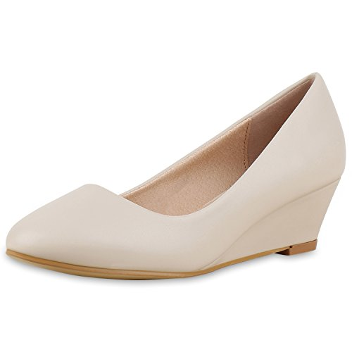 Donna napoli Scarpe Creme chiuse Total fashion qwYOvtPY