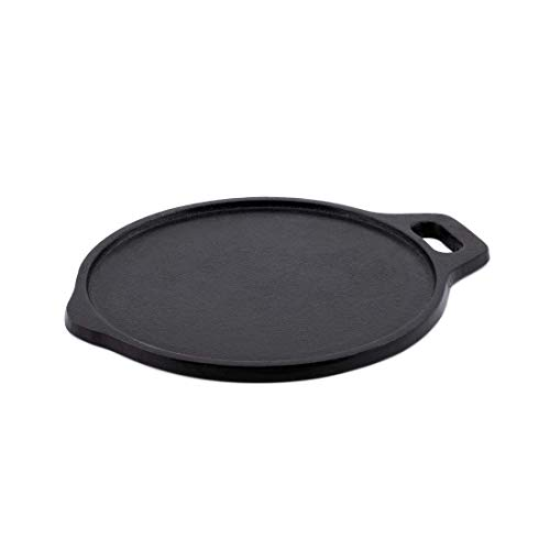 Bhagya Cast Iron Cookware Seasoned Dosa Tawa – 9.5 inches / Black / Flat Ready to use Price & Reviews
