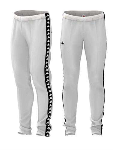 Bianco Kappa Slim 222 bianco Banda White Snaps Astoria black nero O07qwOU