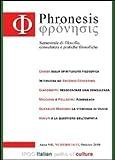 Phronesis No 14-15, Davide Miccione, 8896732263
