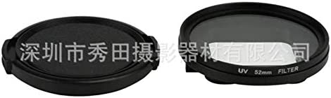 Shoot XTGP380 52MM UV Filter for Gopro Hero 5 with Lens Cover and Adapter