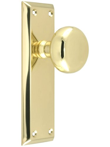 Brass Plated Door Knob - 9