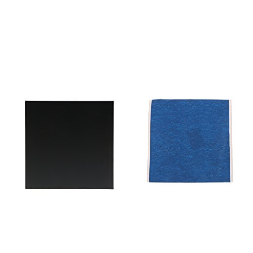 Homyl Cinta de Superficie de Construcción de Impresión 3D para Cama Calefactada Cuadrado 200x200mm Negro + Azul