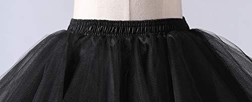 Blu Vintage Crinolina Sottovesti E 50s Petticoat Donna Gonne Da Modellante Retro Sottogonne Intimo Swing Tulle Gonna Tutu Annata Sottogonna QoeWrxdBC
