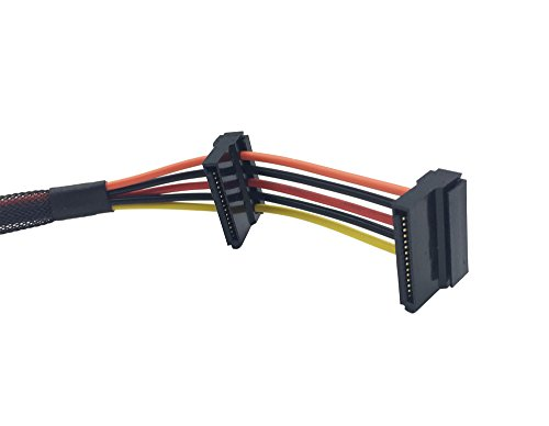 New HDD SATA Power Cable Replacement for Dell Inspiron 3653 3650 3655 series, Compatible part number GP2JM by GoodpowSup (Image #2)