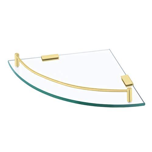 KES Glass Corner Shelf