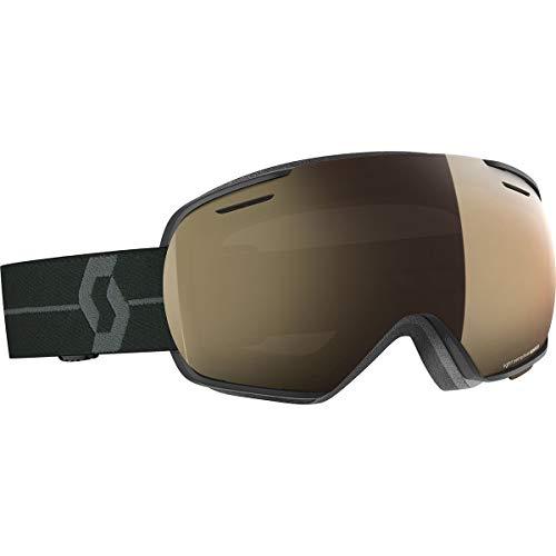 Scott Linx Light Sensitive Goggles Black/Grey-Light Sensitive Bronze Chrome, One Size