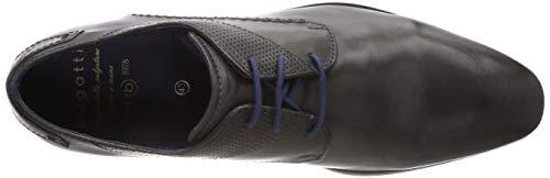 1100 Bugatti Para Grey dark Zapatos Hombre Cordones 311420053000 De Derby Gris 6vRw64qfx