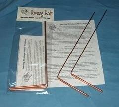 Dowsing Rod set - Copper