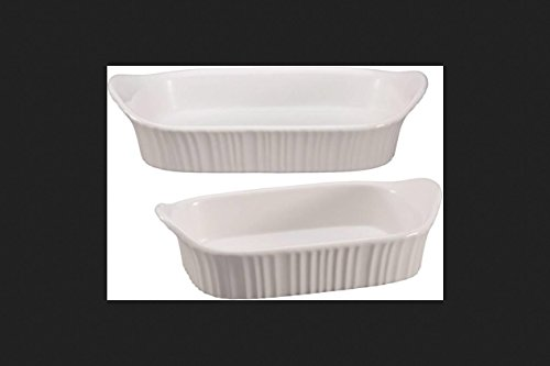WORLD KITCHEN 1115855 BAKING DISH WHITE 2QT by WORLD KITCHEN