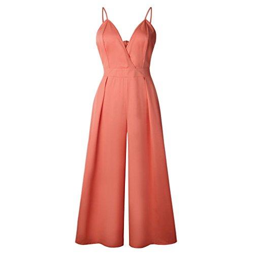 Vintage Mode Femme Reaso Elegant Jumpsuit Et Combinaison V Clubwear Casual Bodycon Longue Chic Retro San Col Playsuit Pantalon Manches 8ZwqHZ