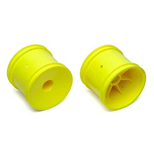 Buy team associated 7853 truck hex wheel, yellow