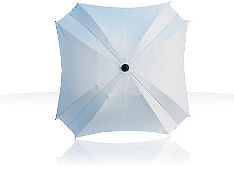 Sombrilla para carro de bebé, con brazo de fijación flexible, protección UV, diámetro de 68 cm, forma cuadrada azul azul: Amazon.es: Bebé